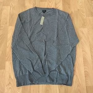 NWT J Crew Cotton Cashmere Crewneck Sweater